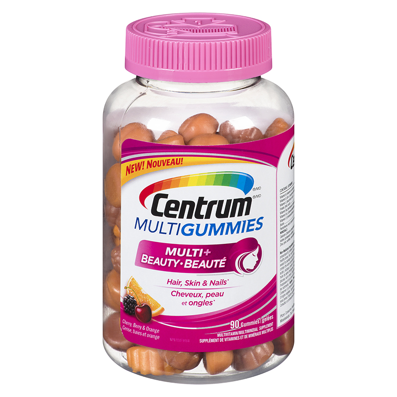 Centrum Multigummies Multi Plus Beauty - 90's