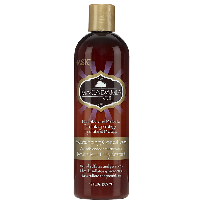 HASK Macadamia Oil Moisturizing Conditioner - 355ml