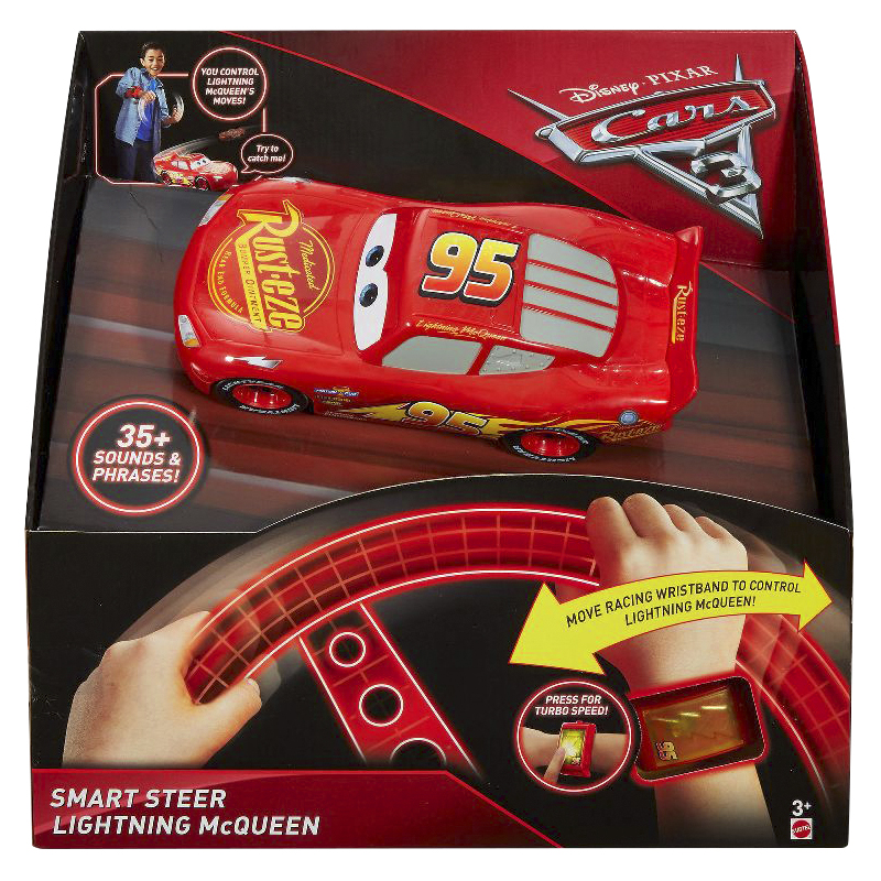 Cars 3 Smart Steer Vehicle - Lightning McQueen
