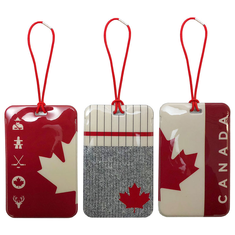My Tagalongs Luggage Tags - Canadiana - 56557