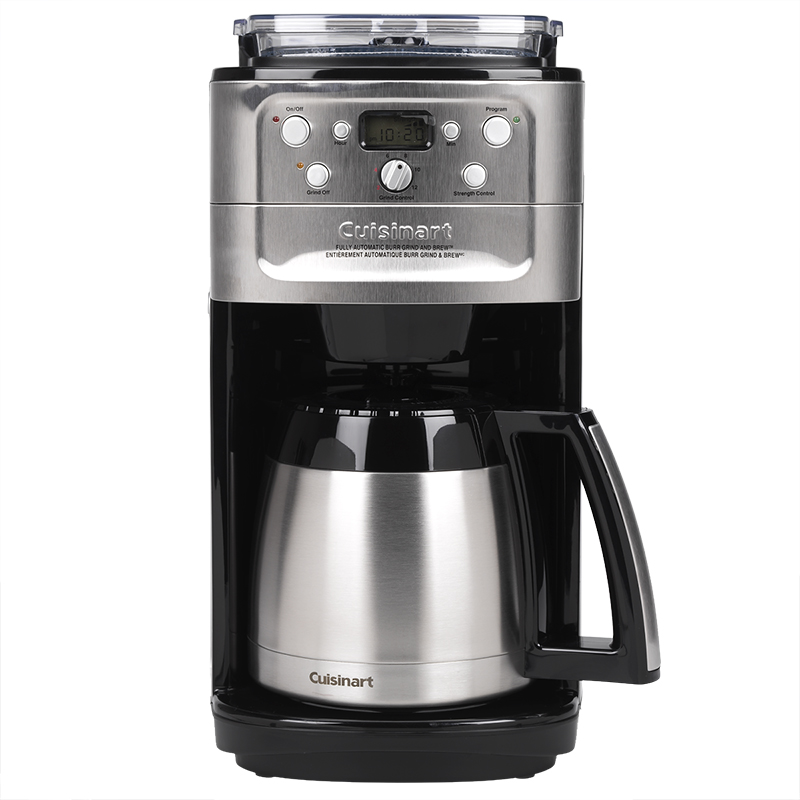 cuisinart coffee makers cuisinart grind amp brew thermal coffee pot dgb 900bc 13297