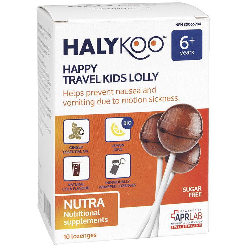 Halykoo Happy Travel Kids Lolly - 10 Lozenges