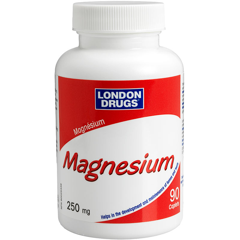 London Drugs Magnesium - 250mg - 90's