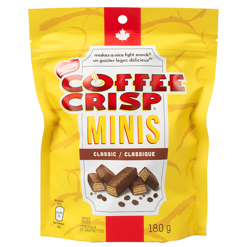 Nestle Coffee Crisp Minis - 180g