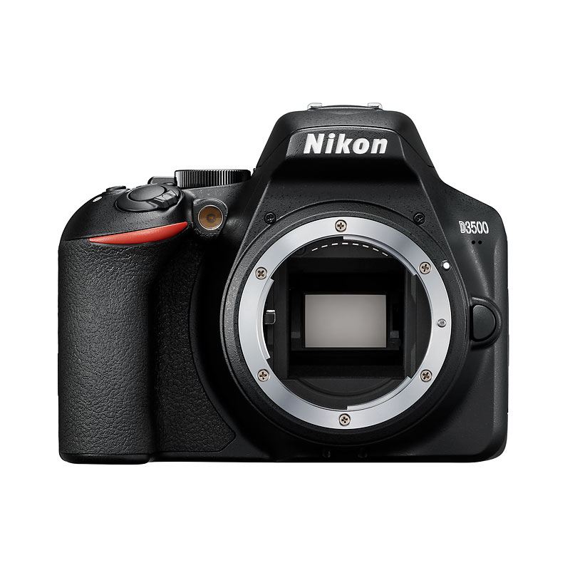 Nikon D3500 DSLR Body Only - Black - 33895