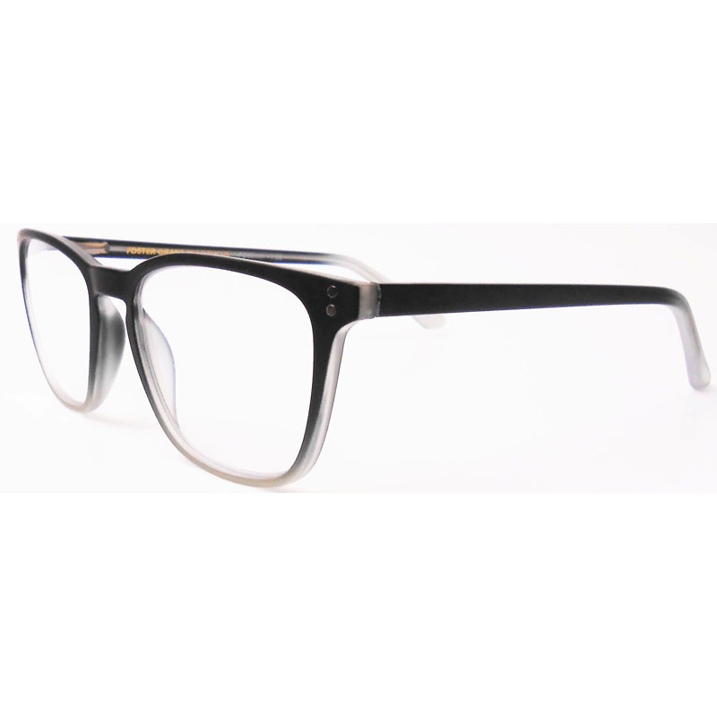 Foster Grant Camden Reading Glasses - Black - 1.00