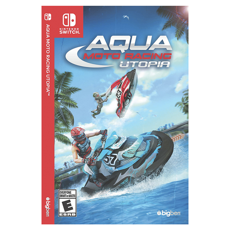 Nintendo Switch Aqua Motor Racing Utopia