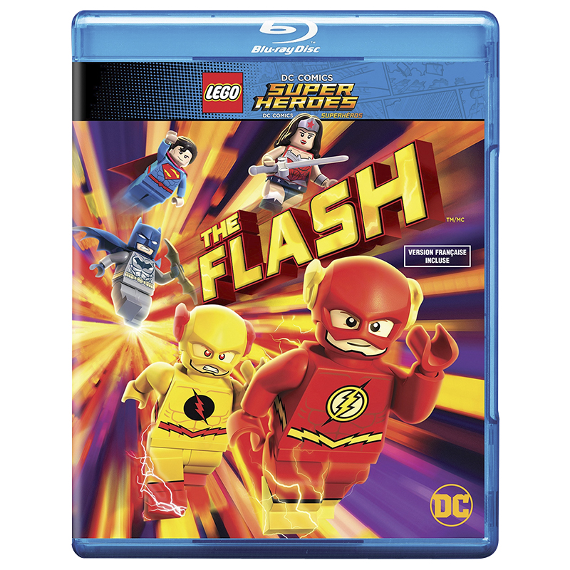 Lego DC Comics Super Heroes: The Flash - Blu-ray