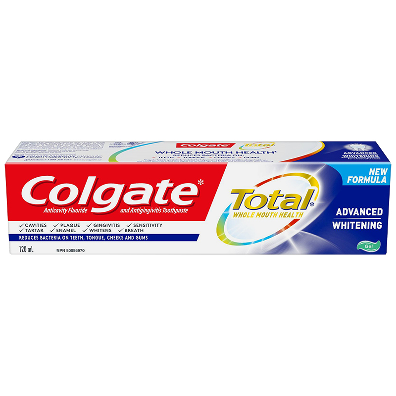 Colgate Total Advanced Whitening Gel Toothpaste - 120ml
