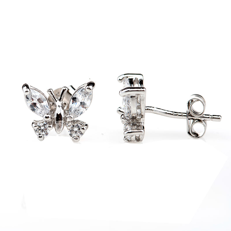 Charisma Stainless Steel Butterfly Earrings