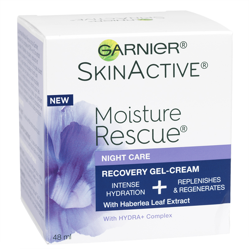 Garnier SkinActive Moisture Rescue Recovery Gel-Cream - Night Care - 48ml