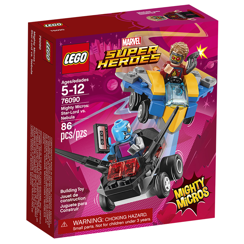 LEGO® Marvel Super Heroes - Mighty Micros Star-Lord vs. Nebula