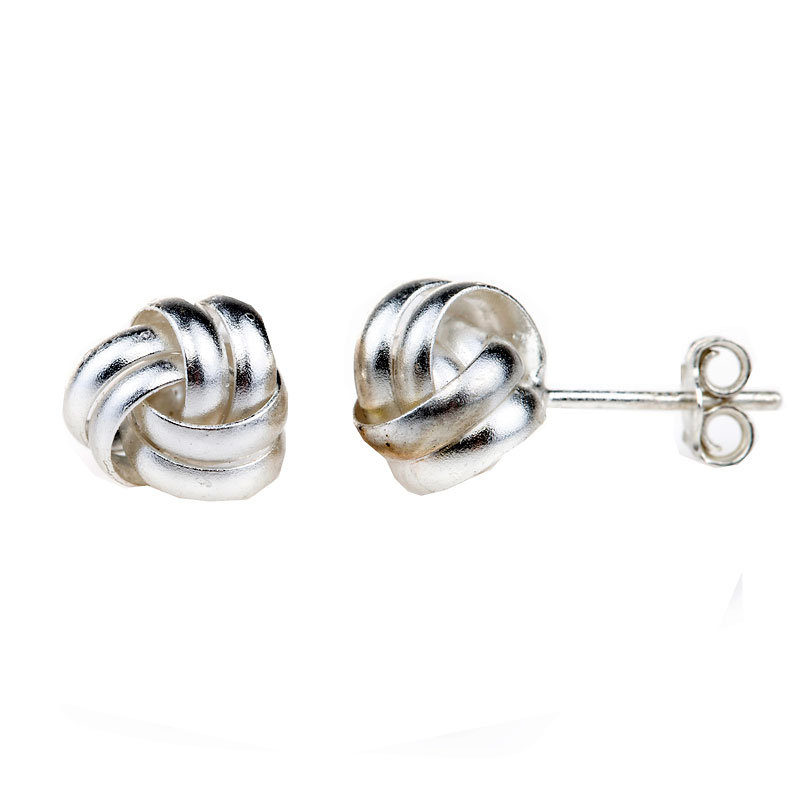 Charisma Stainless Steel Round Cubic Zirconia Earrings