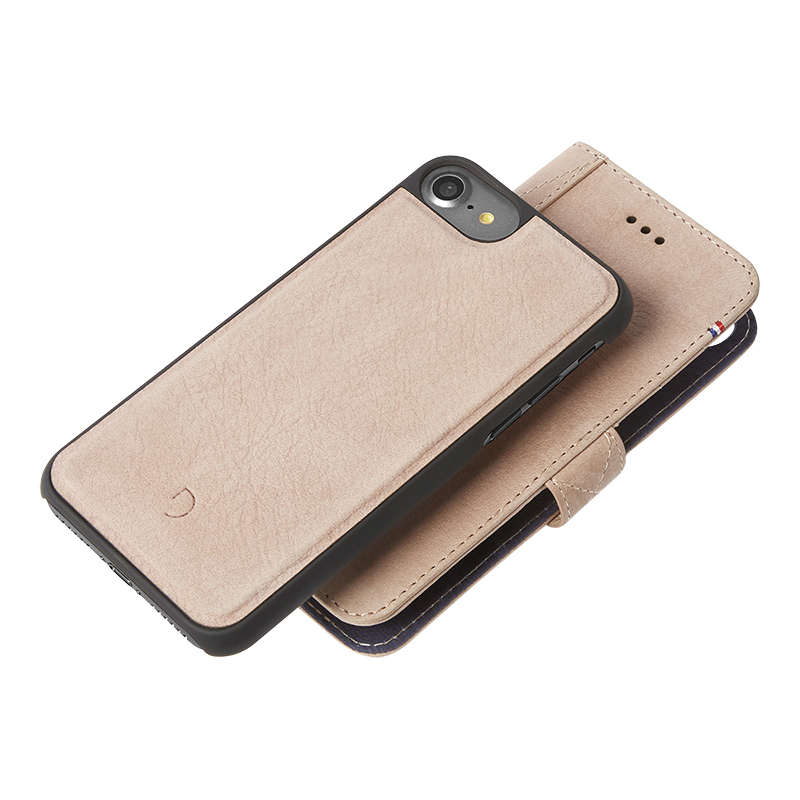 Decoded Leather Wallet Case for iPhone 7 - Rose - DC-D6IPO7WC4RE