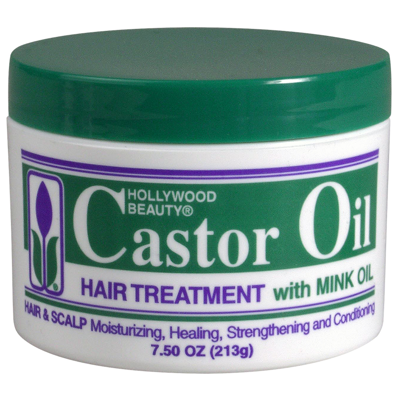 Hollywood Beauty Castor Oil Hair Treatment - 210g