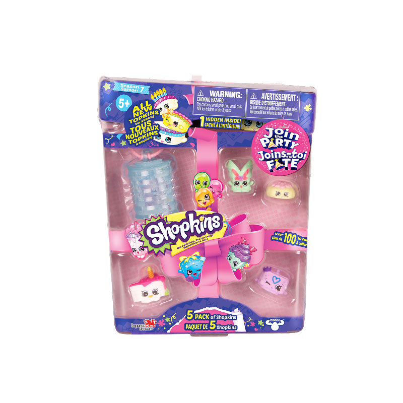 Shopkins Season 7 - 5 pack - Assorted