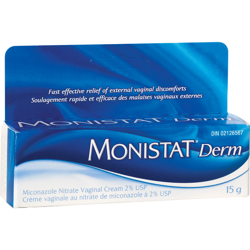 Monistat Derm Cream - 15g