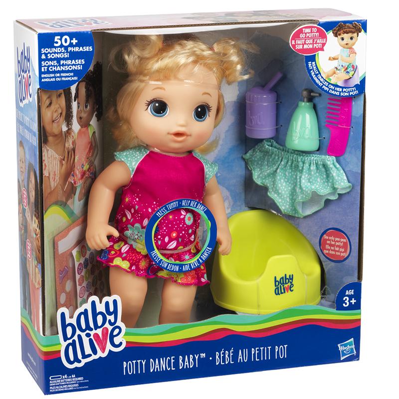 Baby Alive Potty Dance - Blonde  0f20562c7f