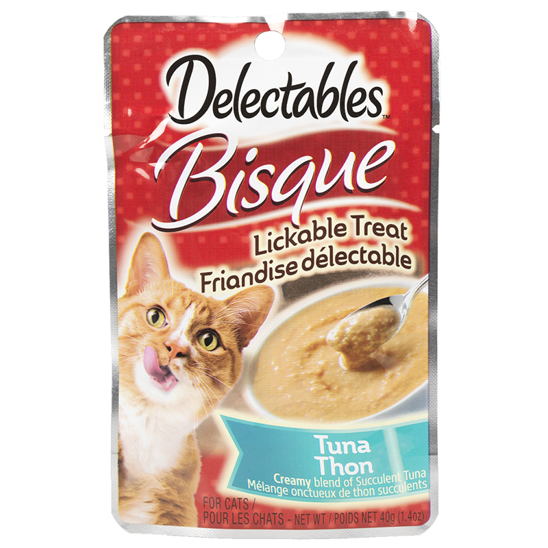 Delectables Bisque Lickable Treat - Tuna - 40g
