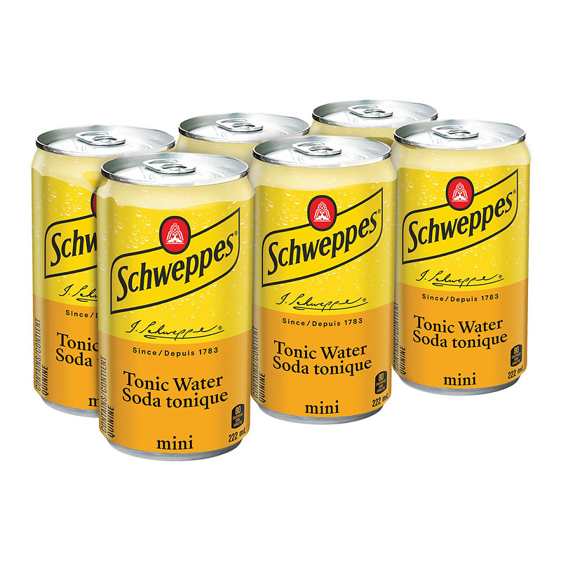 Schweppes Tonic Water - 6x222ml