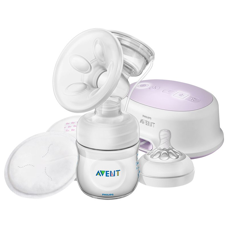 Avent Natural Single Electric Breast Pump - 4 oz - SCF332/21