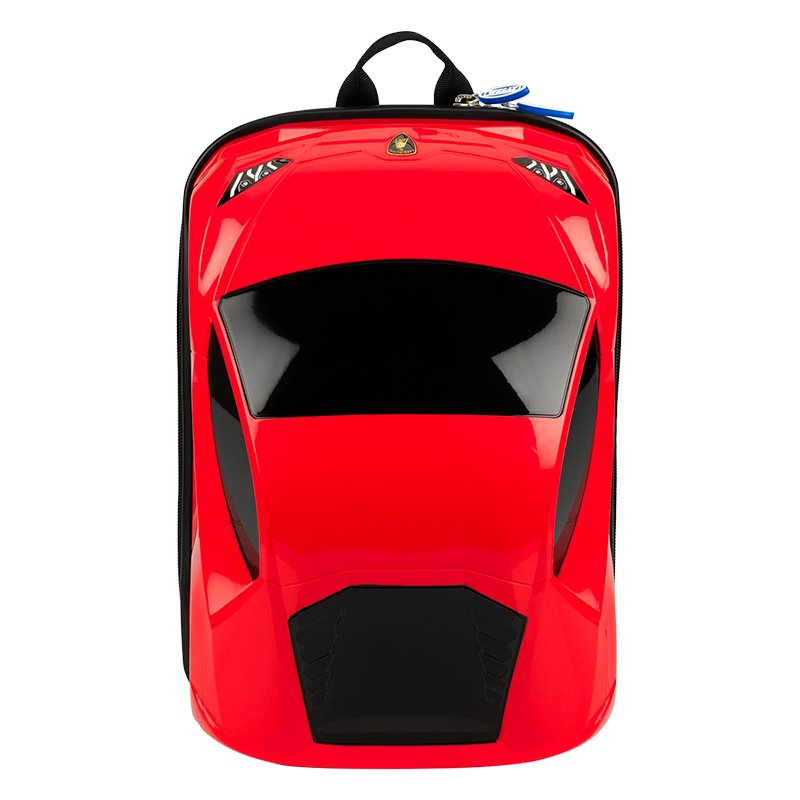 Kids Lamborghini Backpack - Red