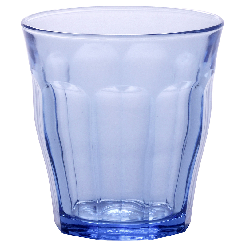 Duralex Picardie Tumblers - Blue - 310ml/4 pack