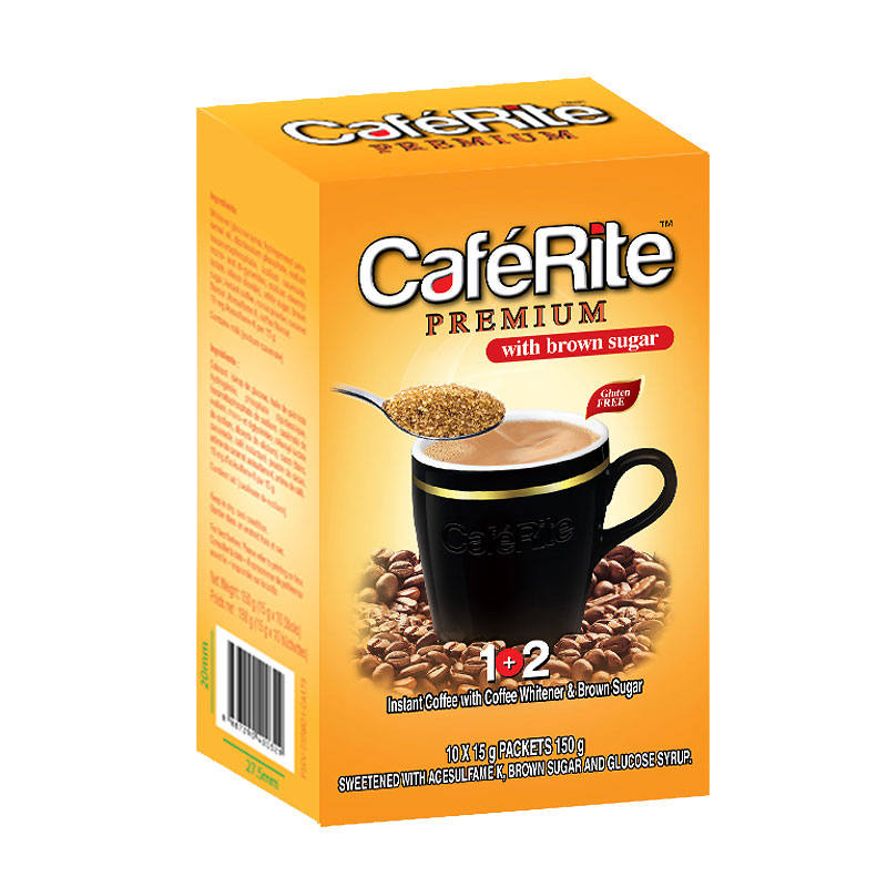 Caferite Premium with Brown Sugar - 150g