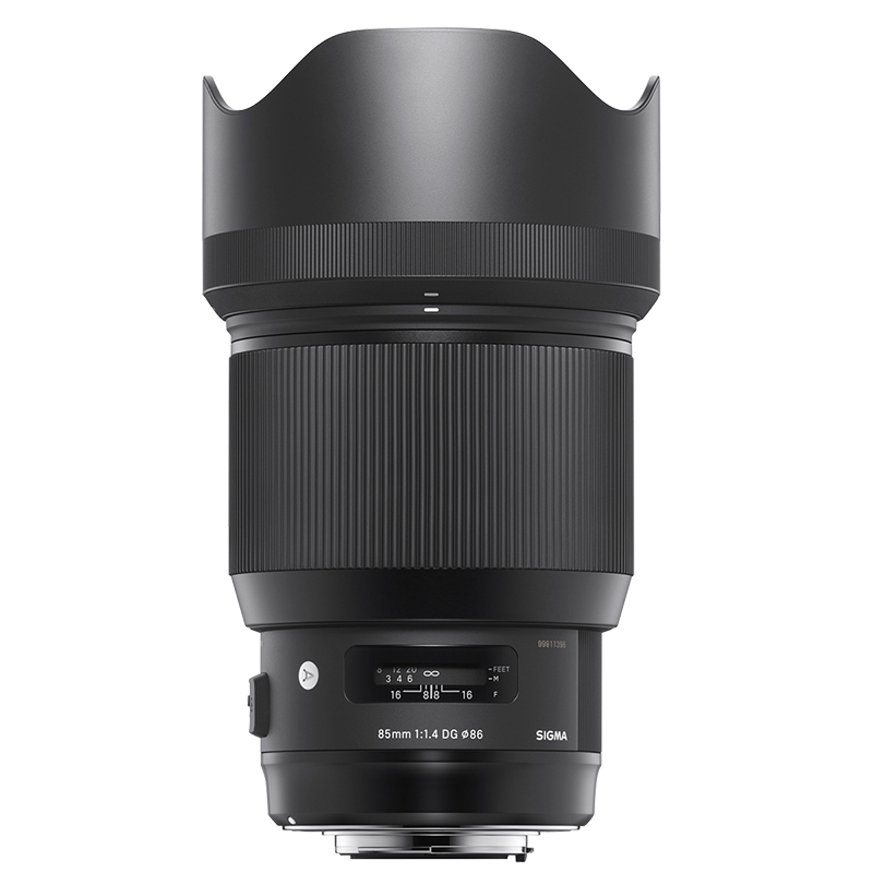 Sigma A 85mm F1.4 DG HSM Lens for Sony - A85DGHSE