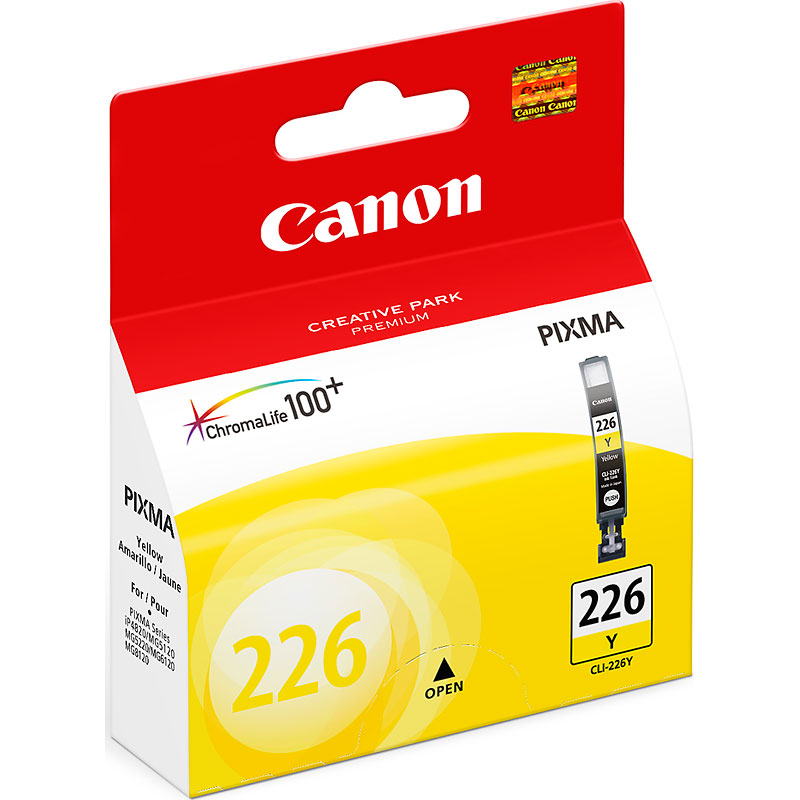 Canon CLI-226Y Ink Cartridge - Yellow - 4549B001