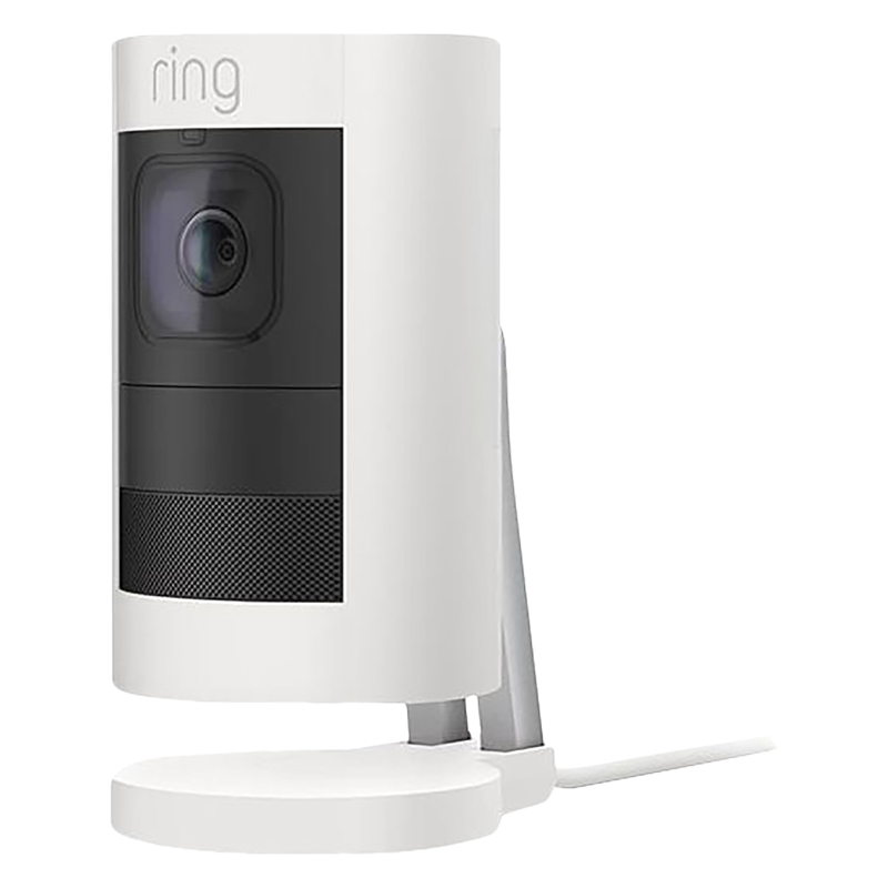 Ring Stick Up Camera - Wired - White - RING-8SS1E8-WFC0
