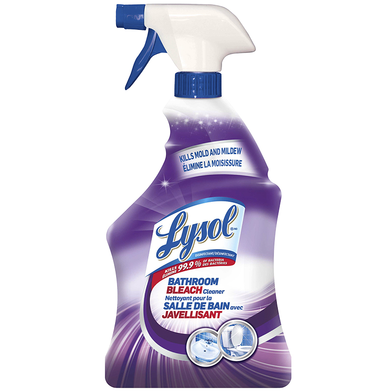 Lysol Bathroom Bleach Cleaner Mold And Mildew 946ml London Drugs