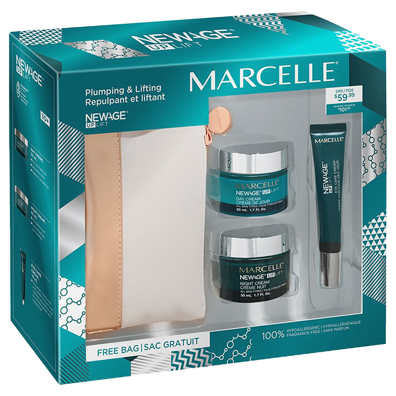 Marcelle New Age Up Lift 30+ Face Care Set - 3 piece