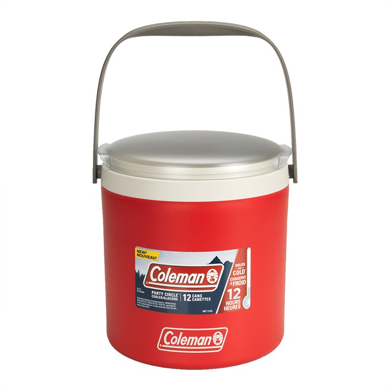 Coleman Party Circle Cooler - Red