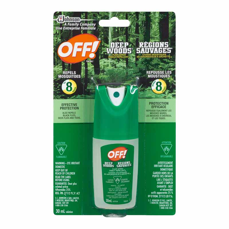 Off Deep Woods Liquid - 30ml