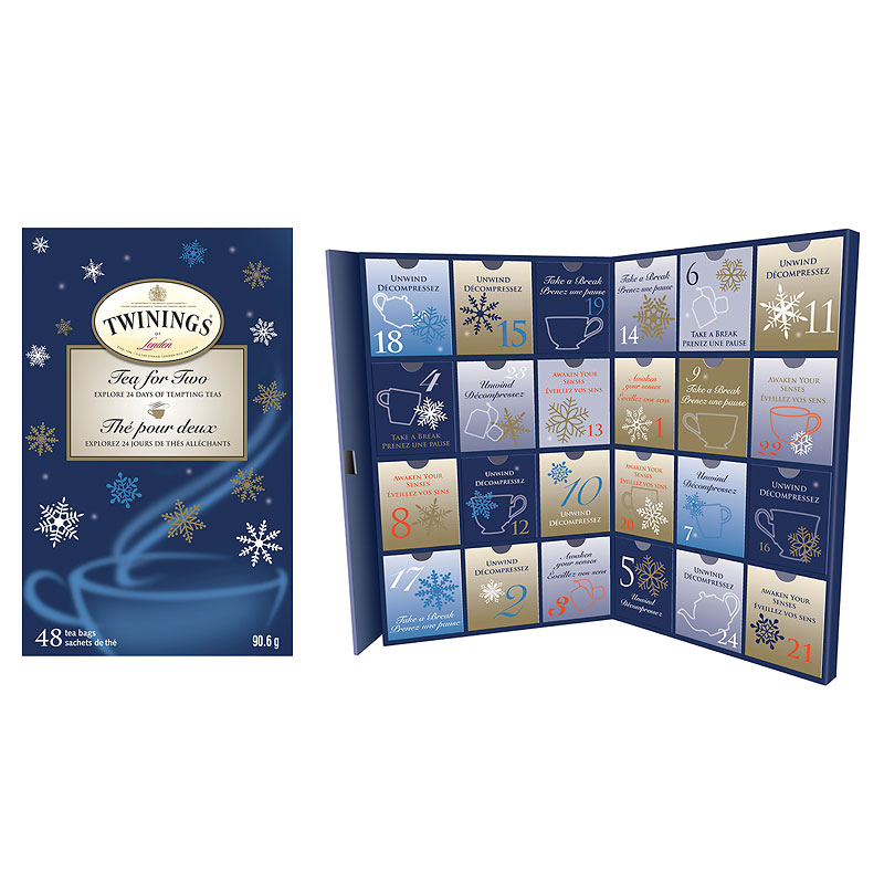 Twinings Tea for Two Advent Calendar - 48's
