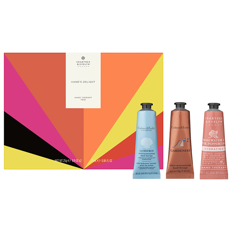 Crabtree & Evelyn Hand's Delight Hand Therapy Trio - 3 piece