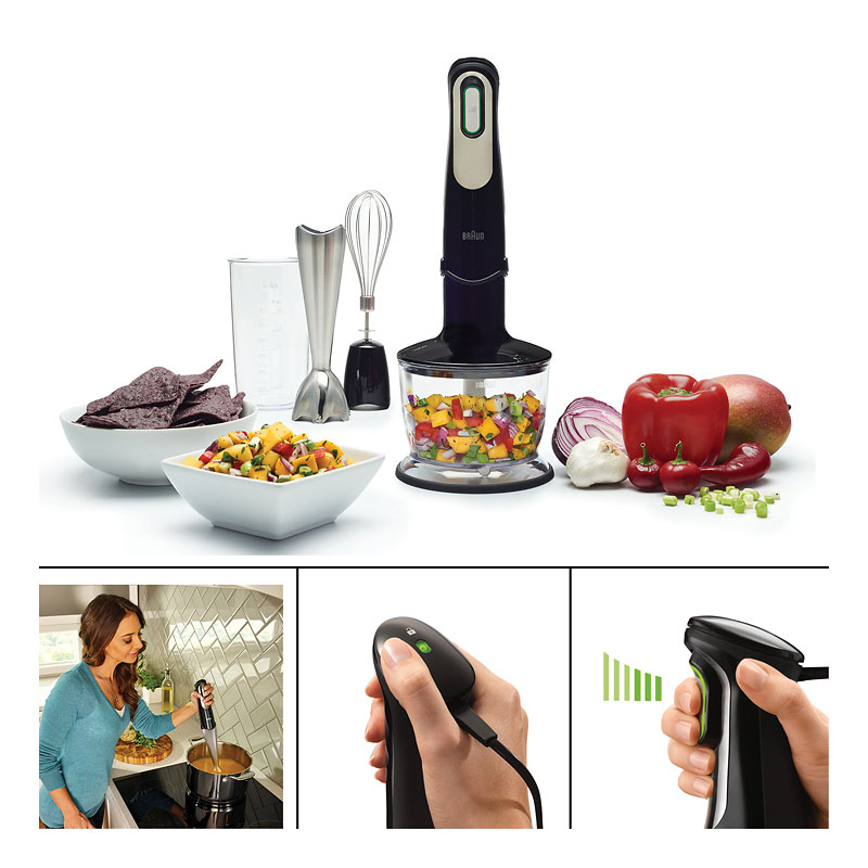 Braun Hand Blender Black - MQ735