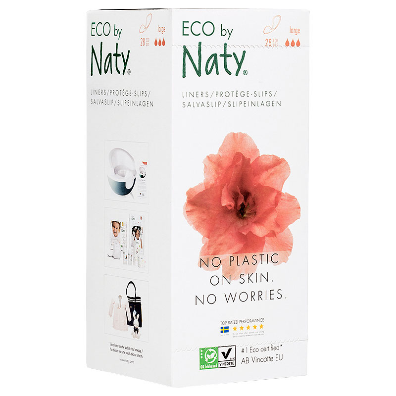 Eco by Naty Sanitary Liners - Large - 28's