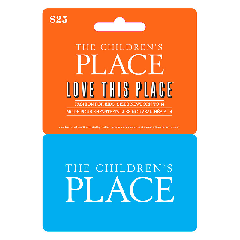 The Children's Place Gift Card - $25