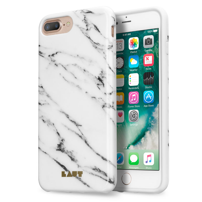 purchase cheap b69dc 68394 Laut Huex Elements iPhone 7 Plus Case - Marble White - LAUTIP7PHXEMW