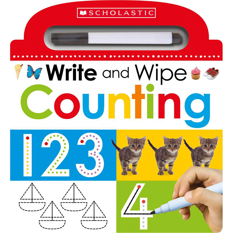 Scholastic Early Learners: Write & Wipe Counting