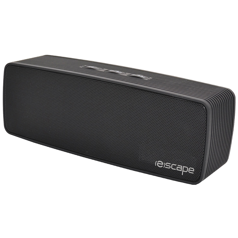 Escape Bluetooth Stereo Speaker - Black - SPBT924