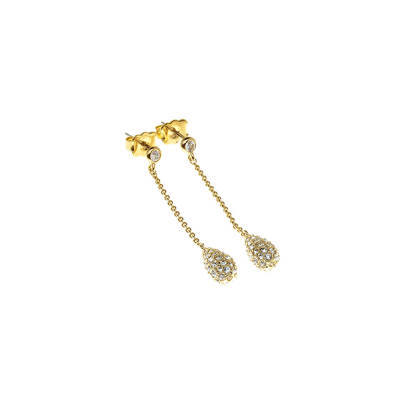 Eliot Danori Teardrop on Chain Earrings