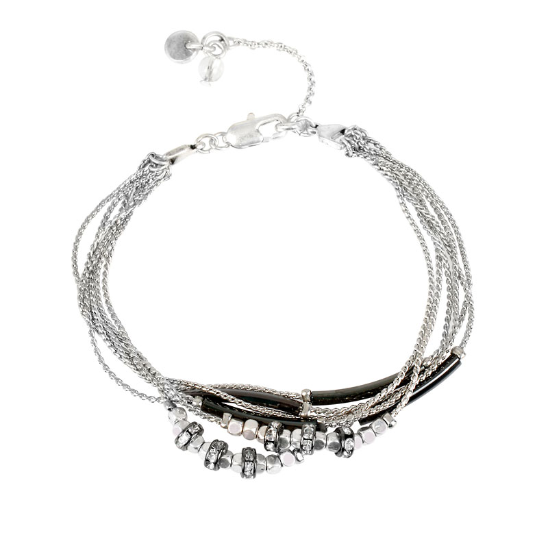 Kenneth Cole Multi-Band Bracelet - Silver
