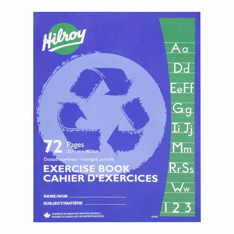 Hilroy Interlined Exercise Book - 72 pages