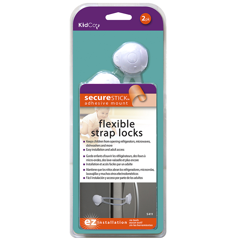 KidCo Flexible Strap Locks - 2 pack - S411