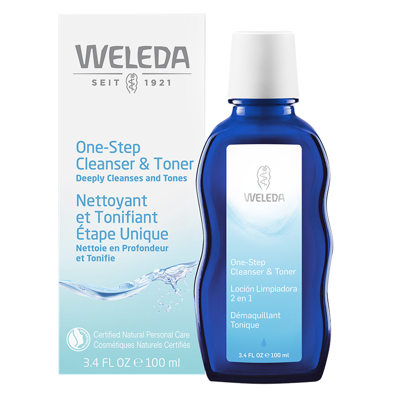 Weleda One Step Cleanser & Toner - 100ml