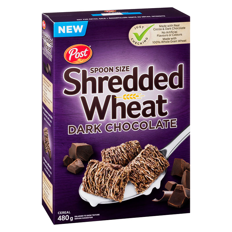 Post Shredded Wheat - Dark Chocolate - 480g