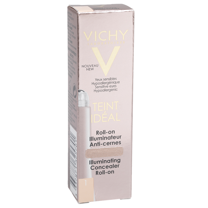Vichy Teint Ideal Illuminating Concealer Roll-On - Light